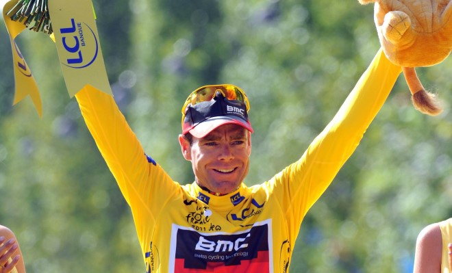 Cadel Evans wins the 2011 Tour de France