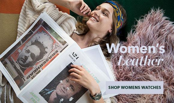 Shop Women's Nixon Leather Watches