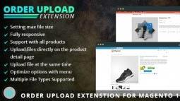 Magento Order Upload Extension