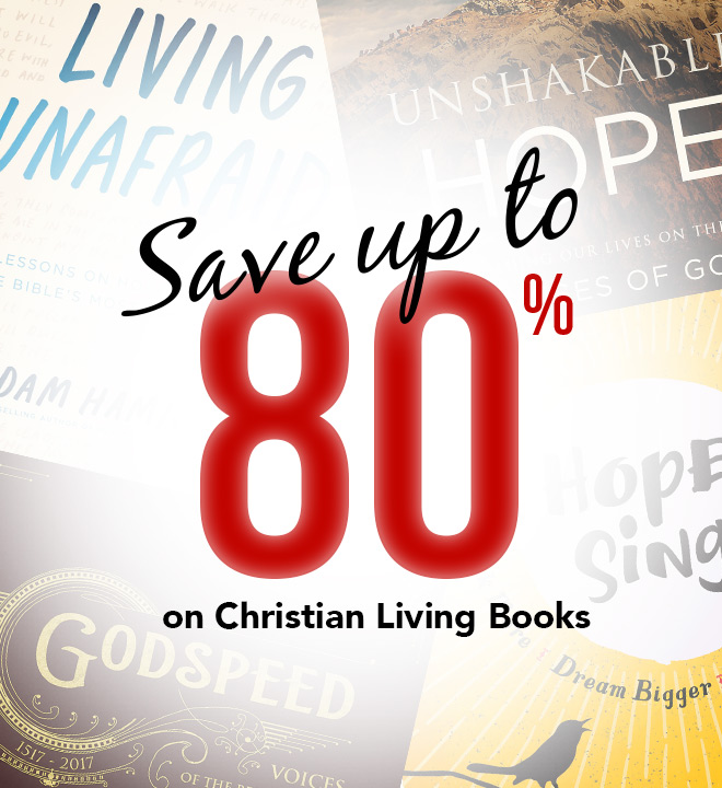 Save up to 80% on Christian Living Books