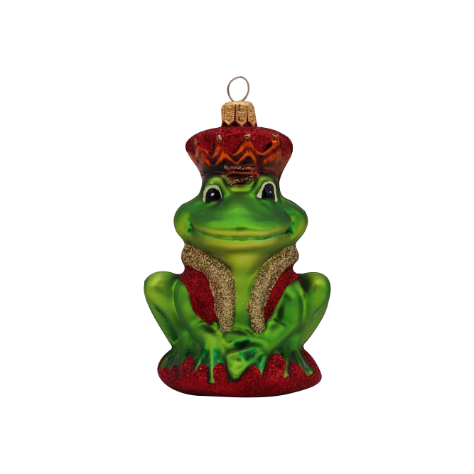 Image of Frog Prince Ornament