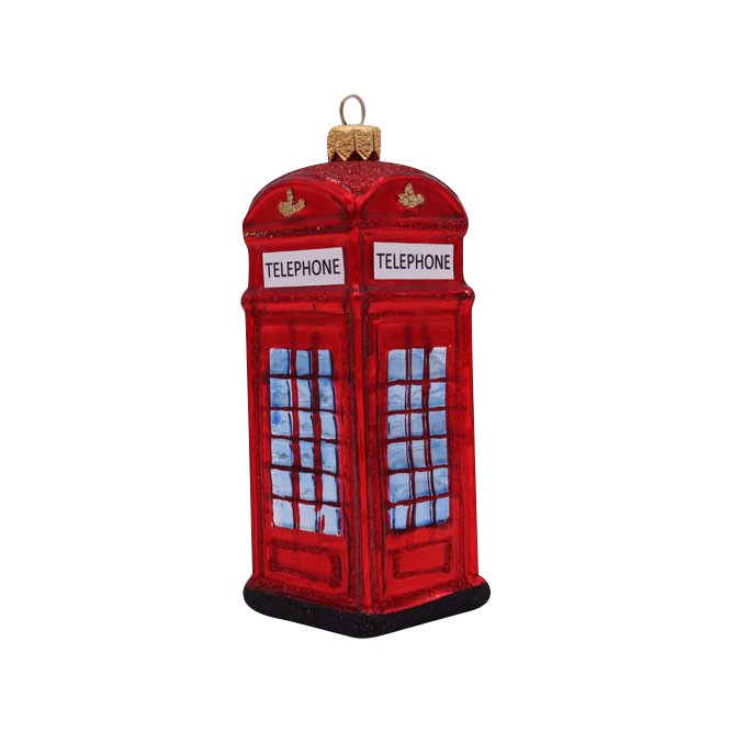 Image of Telephone Booth Ornament