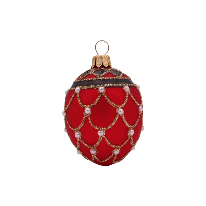 Image of Red Egg Ornament