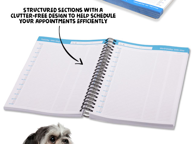 Structured Sections to Schedule Appointments Efficiently