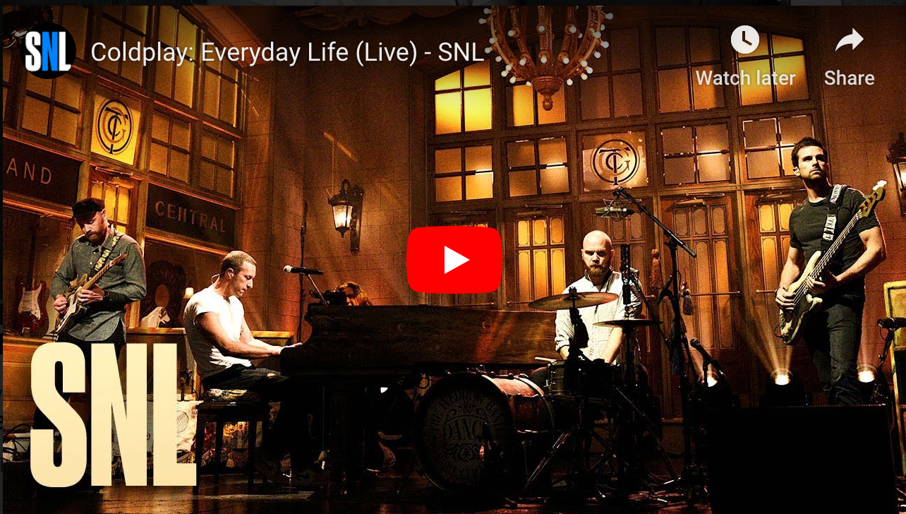 SNL live video image