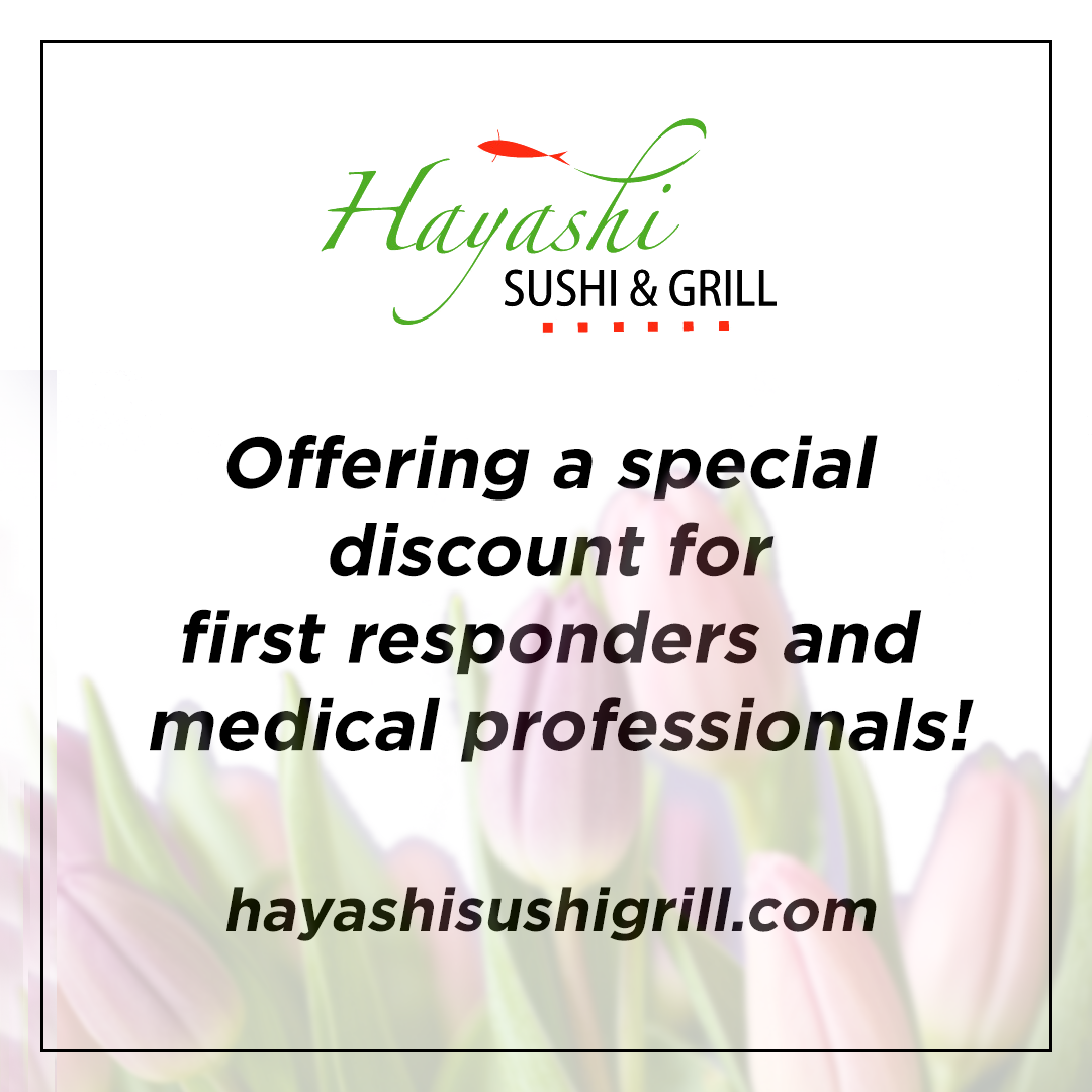 Hayashi First Responder and Medical Professional Discount