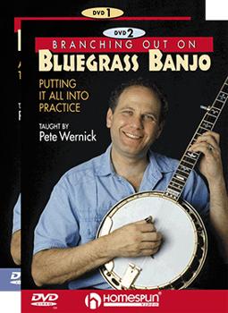 Pete Wernick - Branching Out -Bluegrass Banjo Set