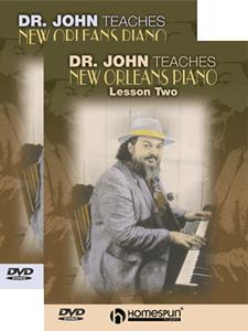 Dr John Teaches New Orleans Piano