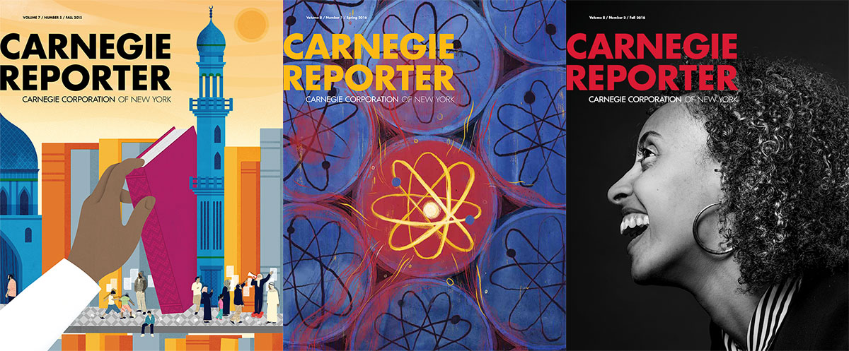 Carnegie Reporter Covers