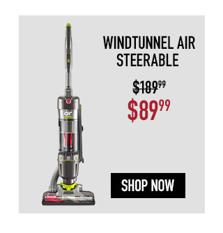 Hoover Windtunnel Air Steerable Upright Vacuum