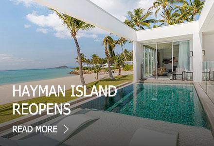 Hayman Island reopens