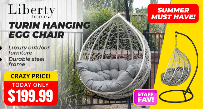 Liberty Turin Hanging Egg Chair