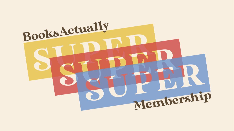 BooksActually Super Membership