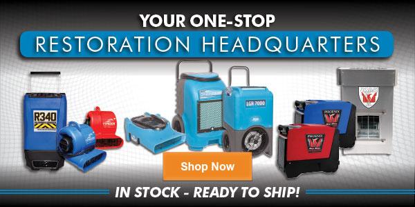 Shop Restoration Equipment