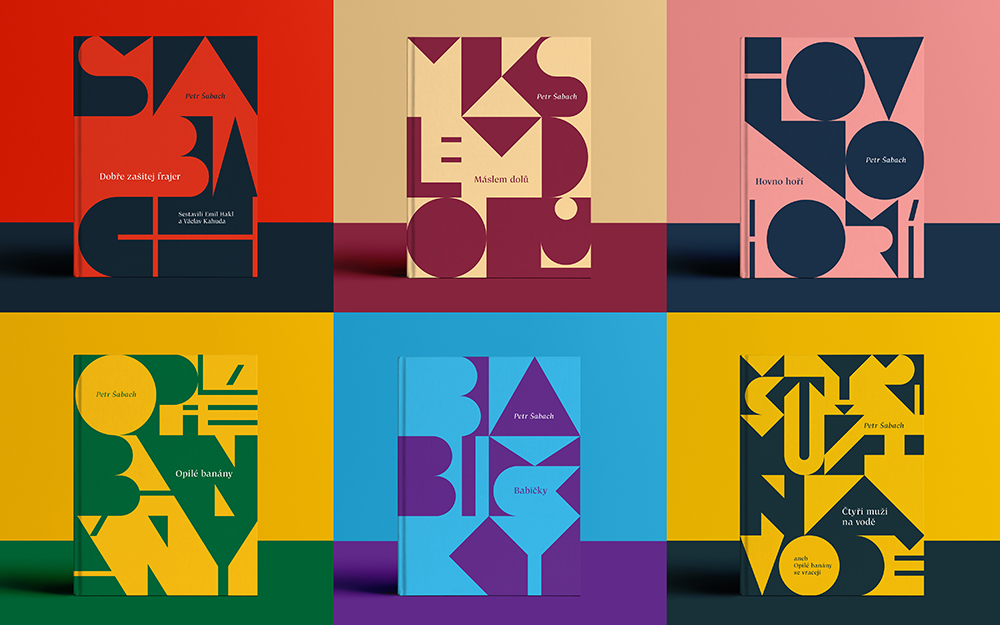 Book Covers for Petr �abach's Novels
