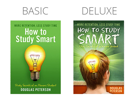 Basic versus Deluxe Cover Designs