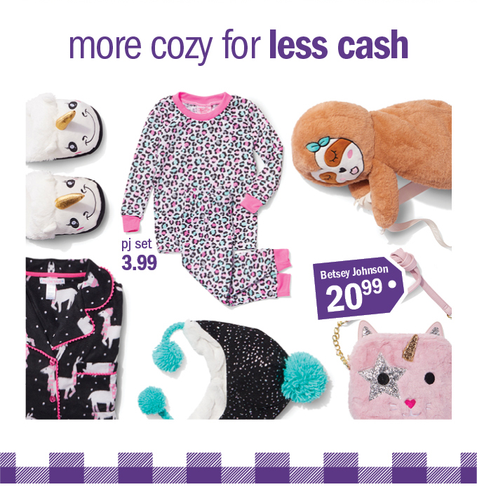 more cozy for less cash