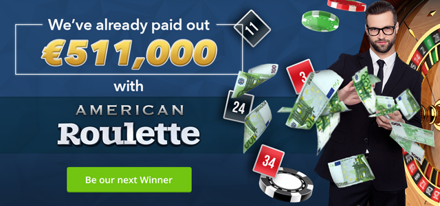 Play American Roulette now!