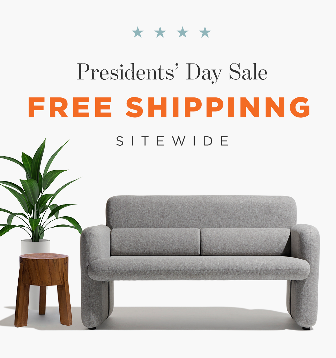 Presidents' Day Sale / Free Shipping
