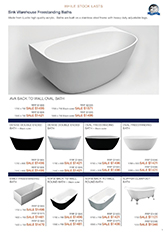 Catalogue 2: The Sink Warehouse