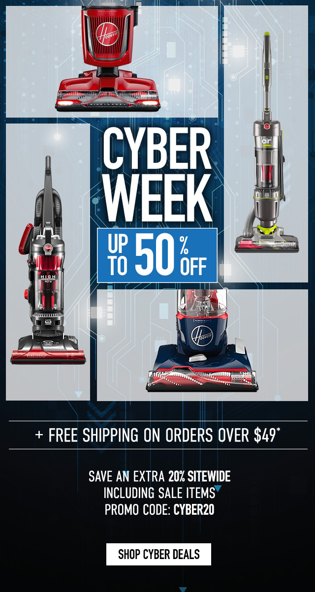 Cyber Week - Up to 50% off