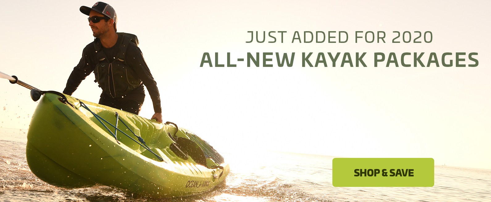 ALL-NEW KAYAK PACKAGES