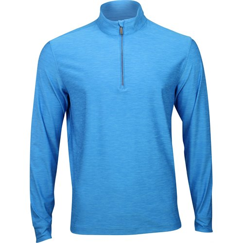 Greg Norman 1/4 Zip Heathered Mock