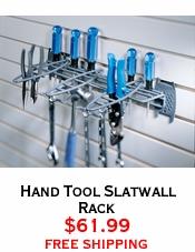 Hand Tool Slatwall Rack