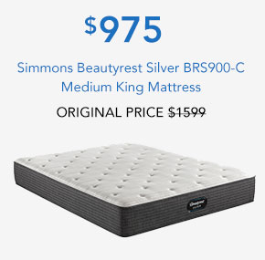 Simmons Beautyrest Silver BRS900-C Medium King Mattress