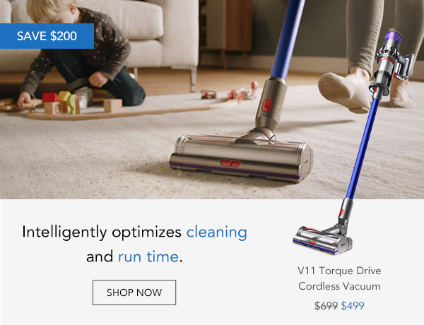Shop Dyson V11 Torque Drive Nickel And Blue Cordless Vacuum