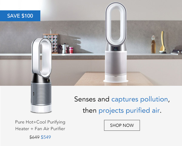 Shop Dyson Pure Hot+Cool HP04 Purifying Heater + Fan White Silver Air Purifier