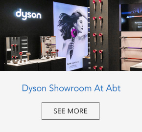 Dyson showroom at Abt