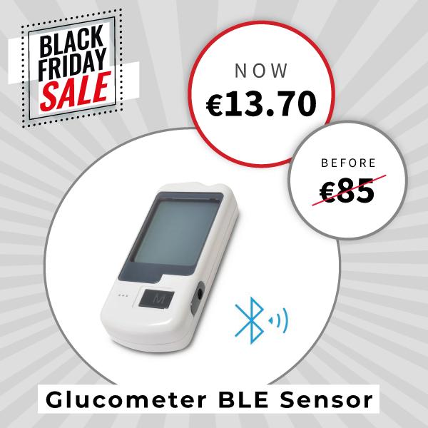 Glucometer BLE sensor for Mysignals