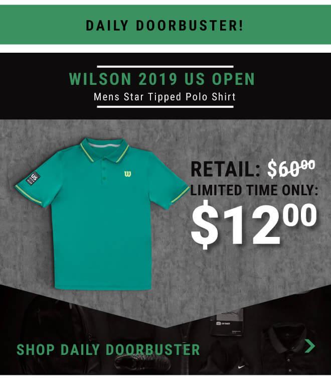 Shop Wilson 2019 Us Open Mens Polo
