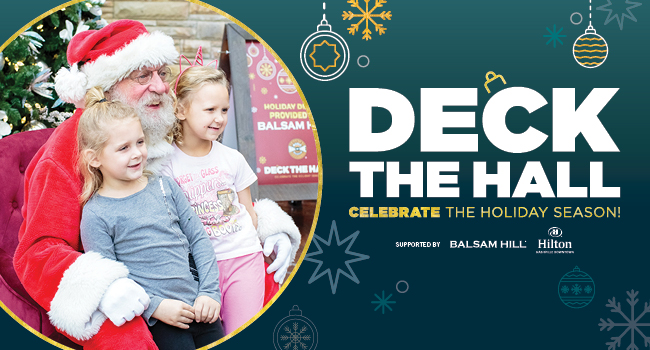Deck The Hall | Celebrate the Holiday Season with us and enter to win a special gift from Balsam Hills