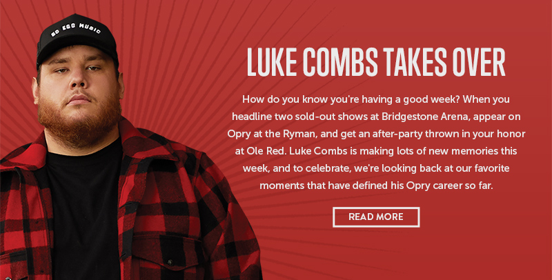 Luke Combs Takes Over