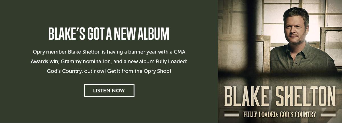 Blake Shelton's New Album