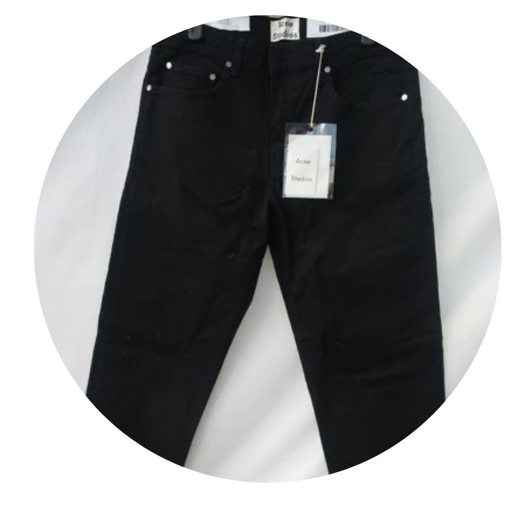 Acne Studios Black Jeans