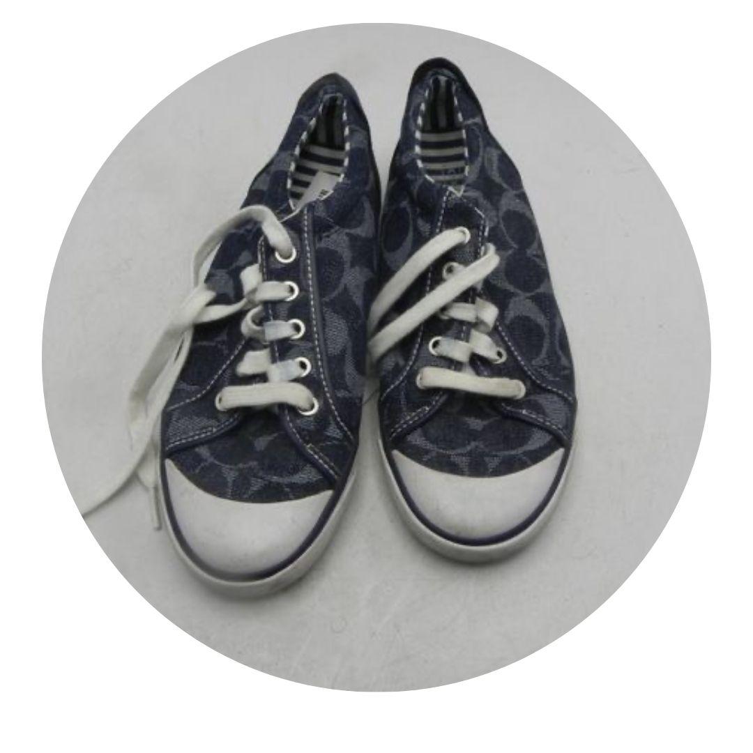 Coach Blue Jean Type Sneakers