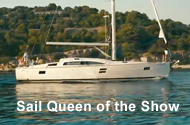 The Queen of the Show Sail - Elan Impression 45.1