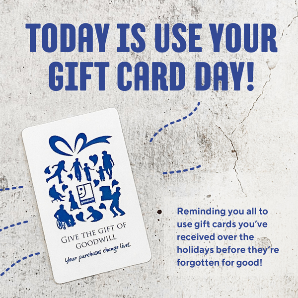 National Use Your Gift Card Day