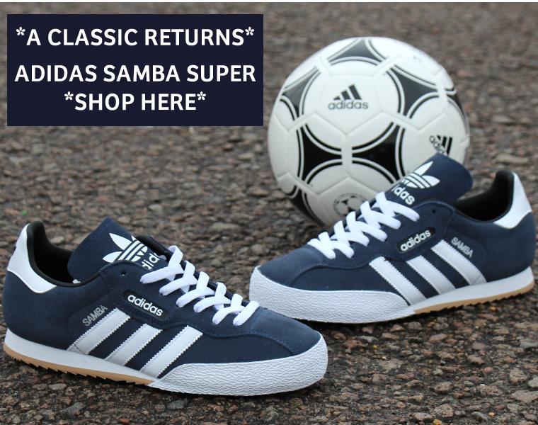 Adidas Super Samba Black White