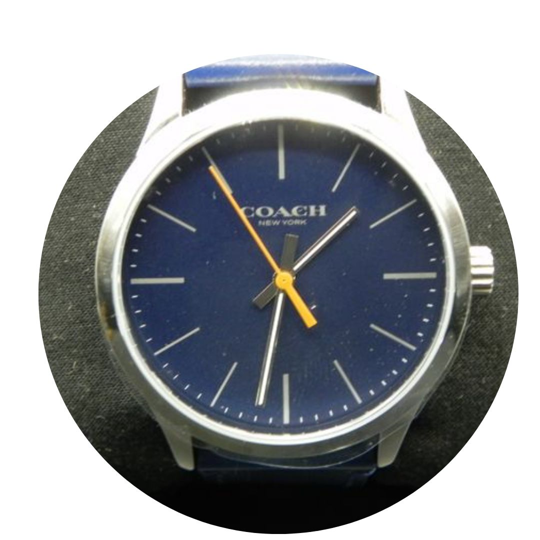 Coach W1582 Stainless Watch Blue