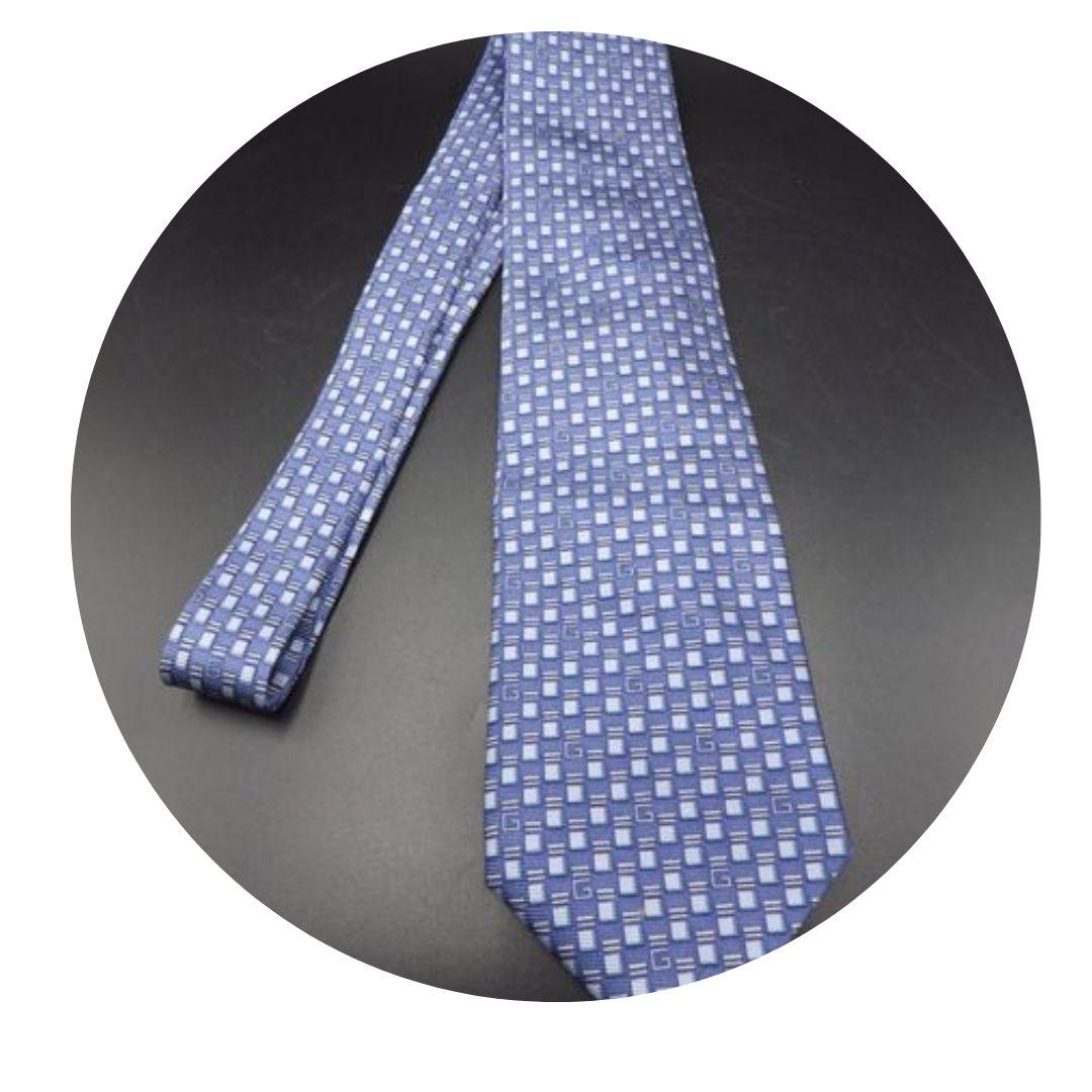 Gucci Blue Tie