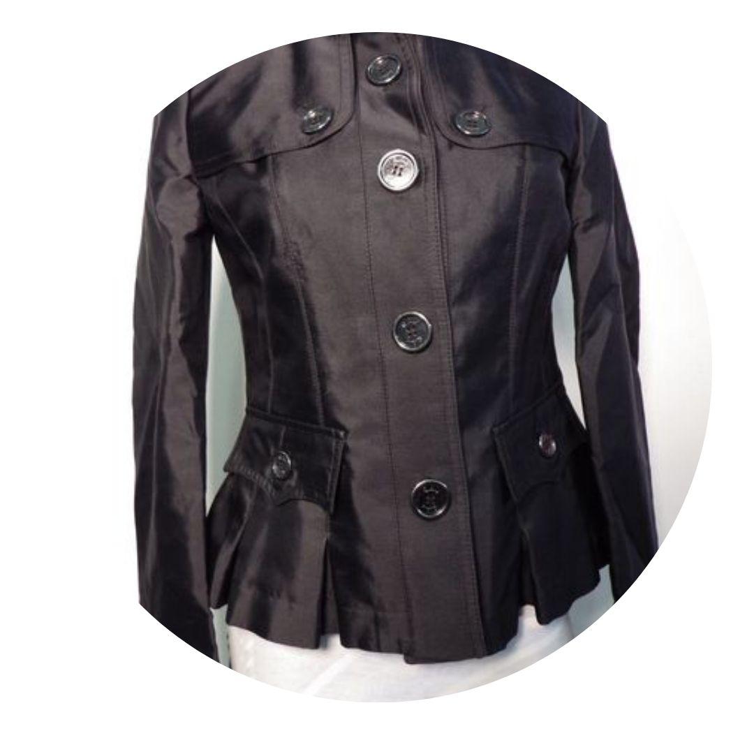 Burberry Womens Lightweight Jacket Black