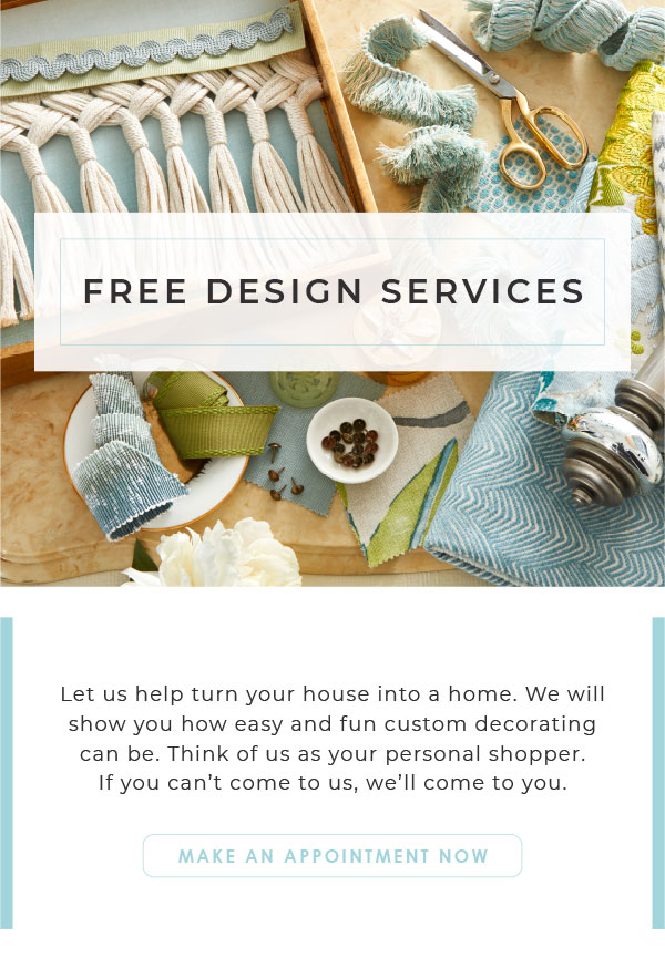 make an in home appointment