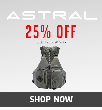 Astral 25% Off Select 2019/20 Gear