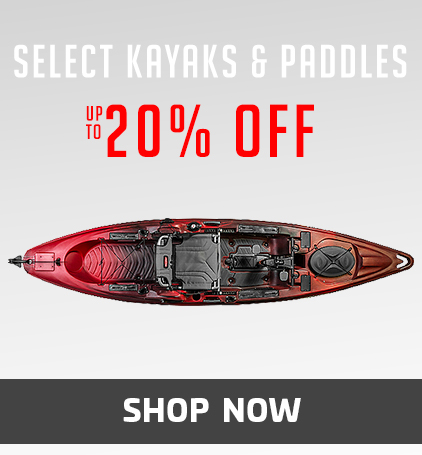 Select Kayaks & Paddles Up To 20% Off