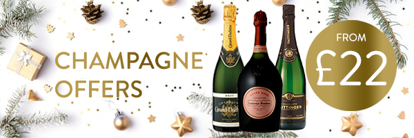 Amazing Champagne Deals available for Christmas
