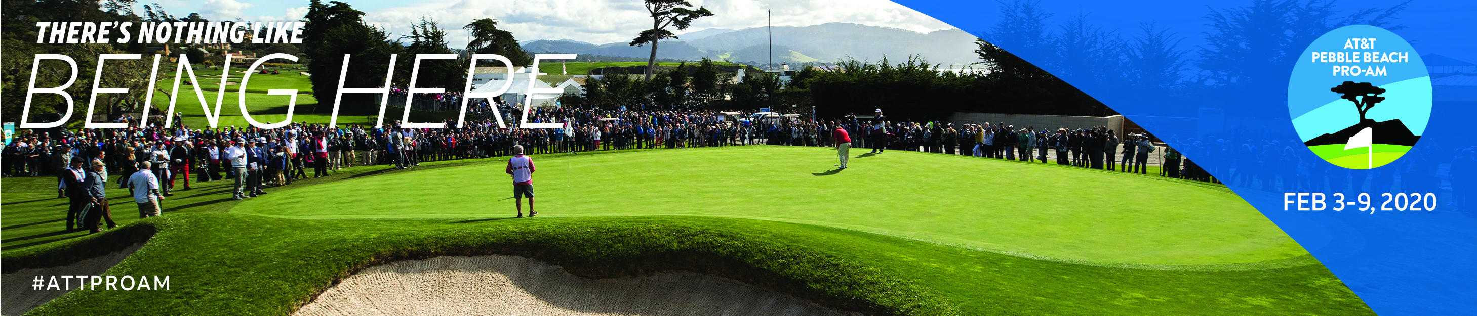 At&T Pebble Beach Pro-Am - There is nothing like being here